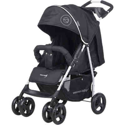 Sportwagen Vero XL Happy Colour, schwarz