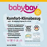 Klima-Bezug für babybay original, weiß