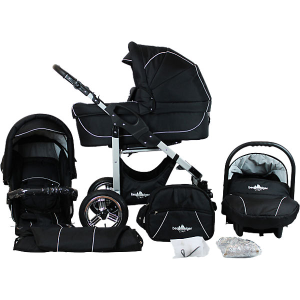 kombi kinderwagen capri 10 tlg black edition. Black Bedroom Furniture Sets. Home Design Ideas