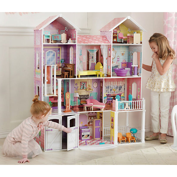 landgut puppenhaus kidkraft mytoys. Black Bedroom Furniture Sets. Home Design Ideas