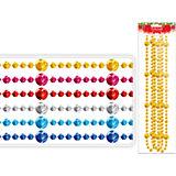 Декоративные бусы 2,7 м (цвета в ассортименте)