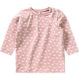 Baby Langarmshirt für Mädchen, Organic Cotton