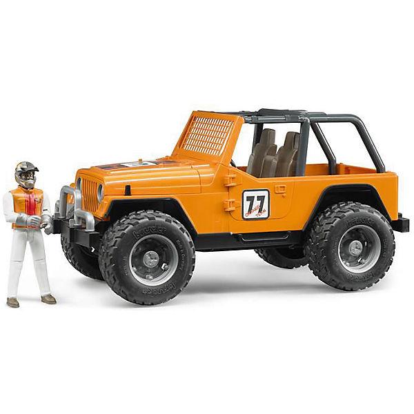 """Внедорожник с гонщиком """"Cross Country Racer"""", оранжевый, Bruder"""