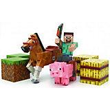 Набор фигурок с аксессуарами, Minecraft