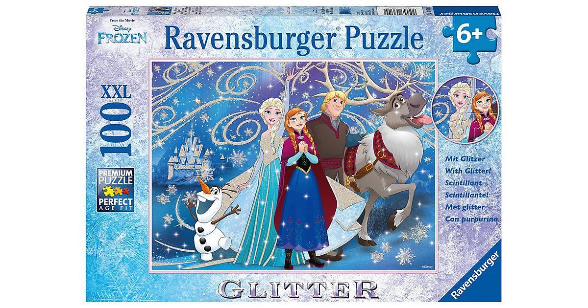 Puzzle Disney Die Eiskönigin Glitzernder Schnee 100 Teile