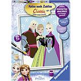 Malen nach Zahlen Disney Die Eiskönigin Elsa, Anna & Kristoff
