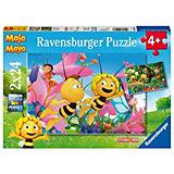 Puzzle Die kleine Biene Maja 2 x 24 Teile