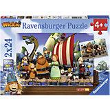 Puzzle-Set Wickie und seine Freunde 2 x 24 Teile