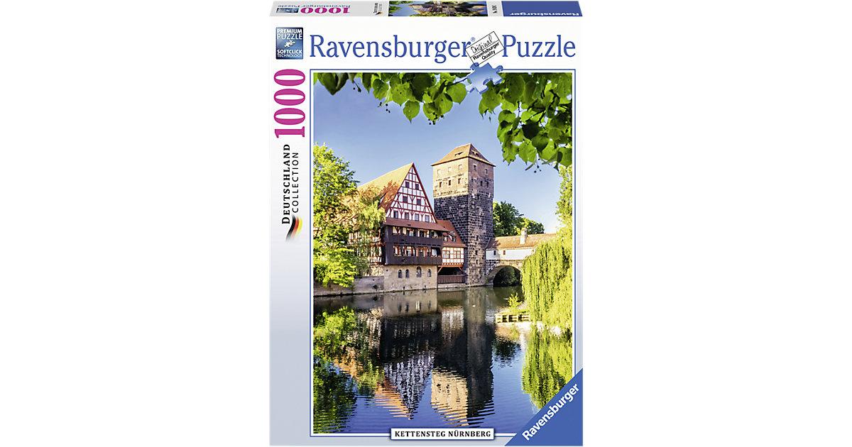 Puzzle Kettensteg Nürnberg 1000 Teile