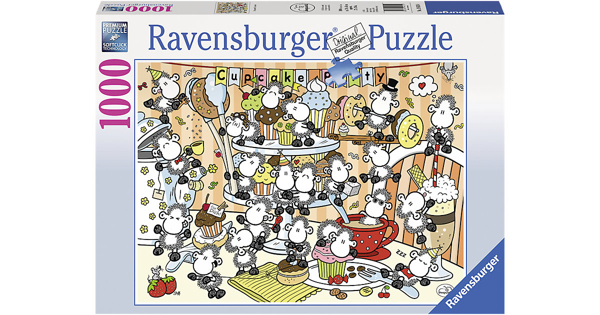 Puzzle Sheepworld Cupcake 1000 Teile