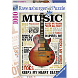 Puzzle Leidenschaft zur Musik 1000 Teile