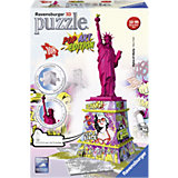 3D Puzzle-Bauwerke Freiheitsstatue Pop Art 108 Teile