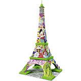 3D Puzzle-Bauwerke Eiffelturm Pop Art 216 Teile