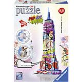 3D Puzzle-Bauwerke Empire State Building Pop Art 216 Teile