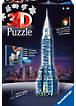3D Puzzle-Bauwerke Chrysler Building bei Nacht 216 Teile