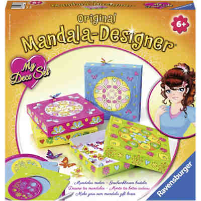Mandala Desgner My Deco Set Flowers und Butterflies