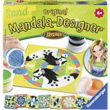 Mandala-Designer Sand Horses