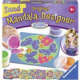 Mandala-Designer Sand Butterflies