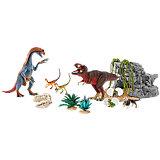 Schleich Saurier: 42267 Großes Dinosaurierset mit Höhle