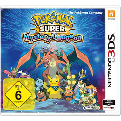3DS Pokemon Super Mystery Dungeon