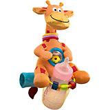 "Мультиигрушка для коляски ""Жираф"",  WeeWise"