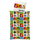 Kinderbettwäsche Angry Birds, Renforcé, 135 x 200 cm