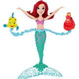 Ариель плавающая в воде, Принцессы Дисней