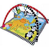 Развивающий коврик Панда в раю, LaDiDa, жёлтый/голубой