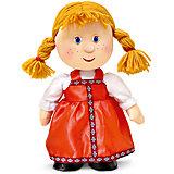 Куколка танцующая в русском сарафане, музыкальная, 31 см., LAVA