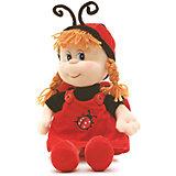 Кукла божья коровка, музыкальная, 21 см., LAVA