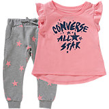 Baby Set T-Shirt + Sweathose für Mädchen