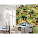Fototapete Winnie the Pooh, Hundertmorgenwald, 254 x 184