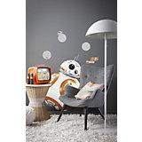 Wandsticker Star Wars, Das Erwachen der Macht, BB-8, 100 x 70 cm