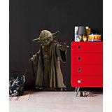 Wandsticker Star Wars, Das Erwachen der Macht, Yoda, 100 x 70 cm