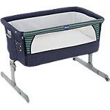 Функциональная кроватка Next2me Denim, Chicco
