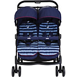 Zwillingsbuggy AireTwin, Nautical Navy