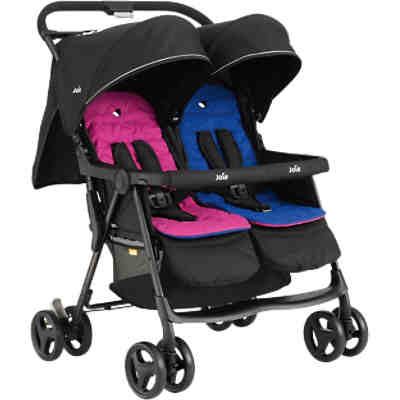 Zwillingsbuggy AireTwin, Pink & Blue
