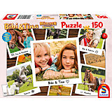 Puzzle Bibi & Tina, Puzzle zum Film 3, Beste Freundinnen, 150 Teile