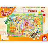Puzzle Sorgenfresser, Manege frei! (inkl. Poster), 60 Teile