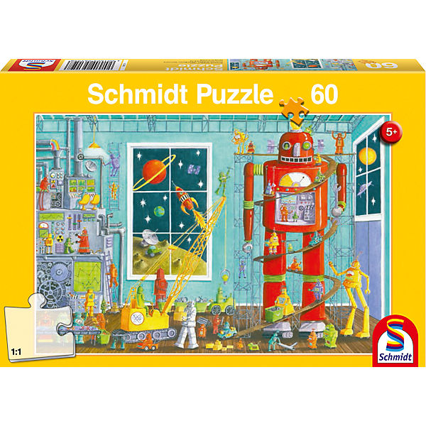 Puzzle Roboter, 60 Teile
