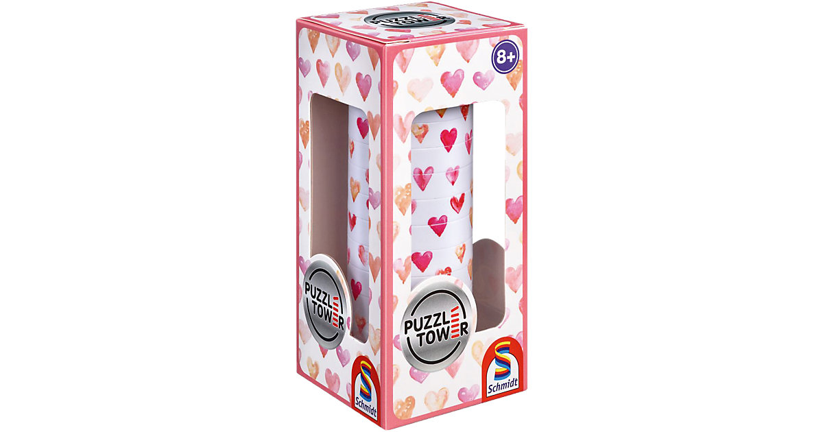Puzzle Tower, Herzen - 10 Teile