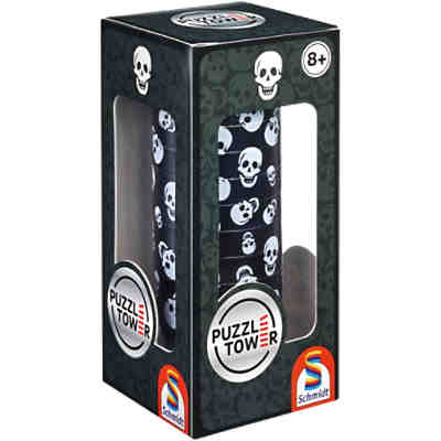 Puzzle Tower, Totenkopf - 10 Teile