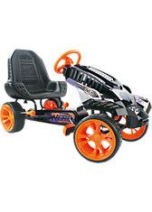 NERF  Go-Kart Balltle Race