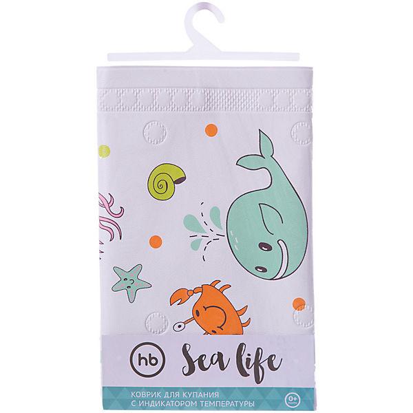 Коврик в ванну Sea Life, Happy Baby