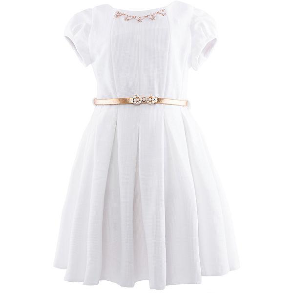 Нарядное платье Венера - белый