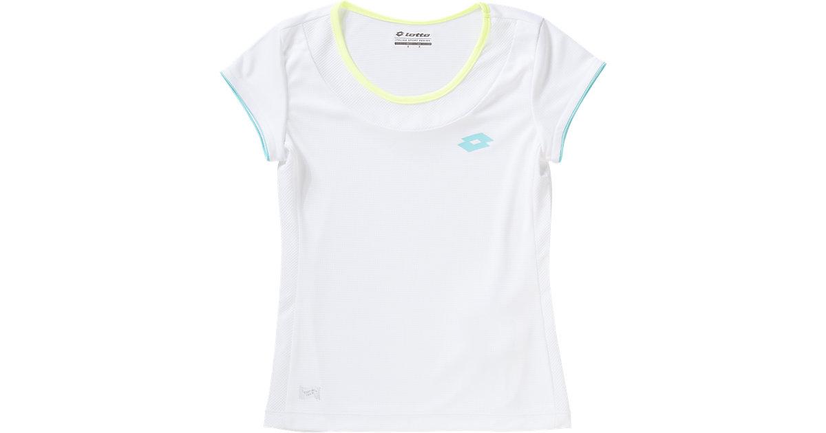 Tennis T-Shirt SHEELA II weiß Gr. 152/164 Mädchen Kinder