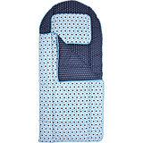 Kinderschlafsack Sterne, 140 cm, blau