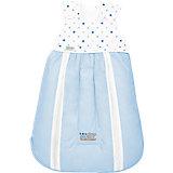 Schlafsack 4allSeasons ClimaBalance, weiß-blau