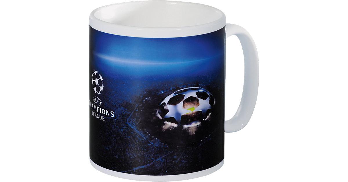 Tasse FC Bayern München Champions League blau