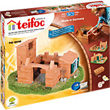 """teifoc TEI8010 Steinbaukasten - """"Burg / Haus"""""""